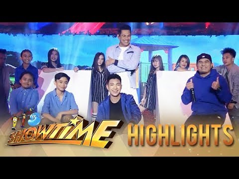 It's Showtime: Gary V, Gloc 9, Darren and TNT Boys perform songs from Awit at Laro