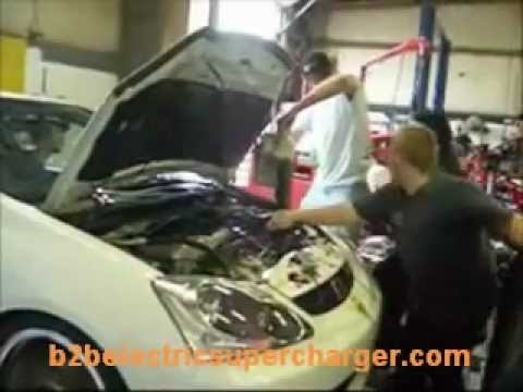 Leafblower Supercharger Dyno ( PLUS NOS !!! )