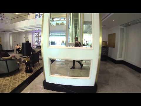 #ParavionLIVE. Lobby la Hotel Taj Dubai, Dubai