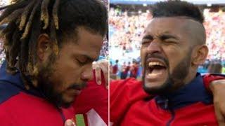 Breaking News-Panama's Captain Breaks Down In Tears During Emotional National Anthem