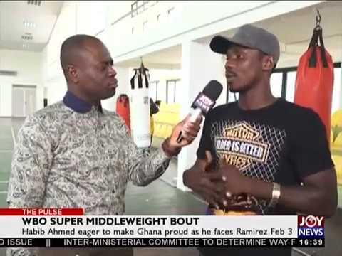 WBO Super Middleweight Bout - The Pulse Sports on JoyNews (2-2-18)