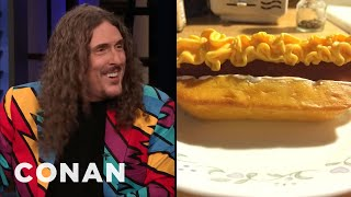 """Weird Al"" Yankovic Comes Up With His Best Ideas At 3AM - CONAN on TBS"