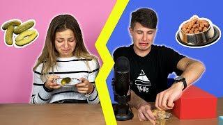 NON SCEGLIERE LA SCATOLA SBAGLIATA!! *Food Challenge*