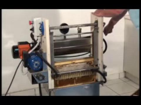 Ημιαυτόματο Απολεπιστήριο ANEL - Semi-Automatic Uncapping Machine ANEL