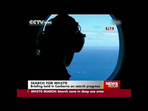 Australia, China and Malaysia hold press conference on MH370