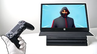 Portable 144Hz Gaming Monitor Unboxing (PS4, Xbox One, Switch, PC)