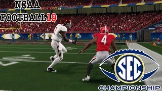 NCAA Football 19 | 2018 SEC CHAMPIONSHIP I NCAA 14 Updated Rosters