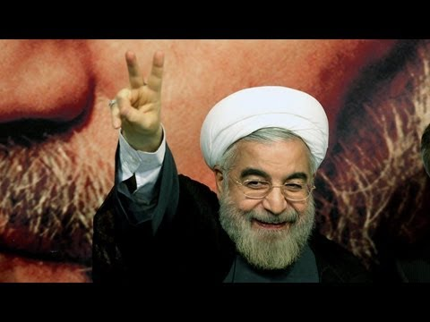 Moderate cleric Hassan Rouhani wins Iran's presidential vote by a large margin