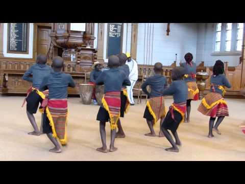 kinderkoor Uganda