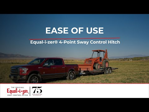 Ease of Use -- Equal-i-zer® 4-Point Sway Control™ Trailer Hitch