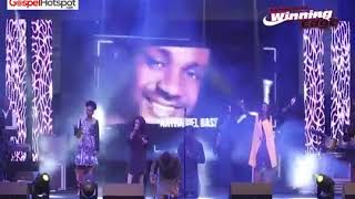 Nathaniel Bassey Ministration At Winning Edge 2019 With Funke Felix-Adejumo