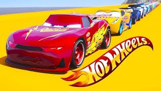 HOT WHEELS DOUBLE JUMP PARKOUR CHALLENGE (Cars 3 Challenge)