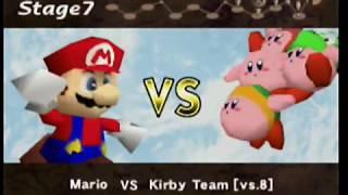 Super Smash Bros. (N64) - 1 Life + Very Hard (Mario)