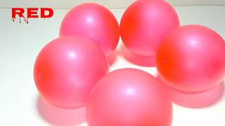 Learn Numbers and Colors for Toddlers with 5 Beautiful colours Balloons by Learn with Toy