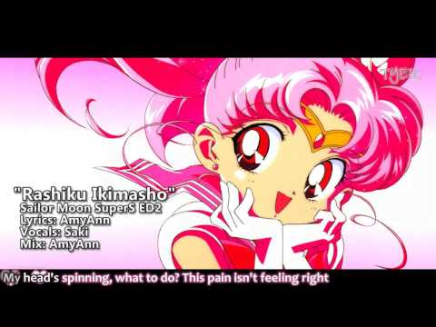 [TYER] English Sailor Moon SuperS ED2 - Rashiku Ikimasho [Ft.Saki]