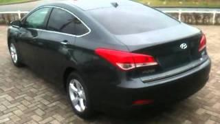 Обзор черного Hyundai i40 Седан (салон, кузов)