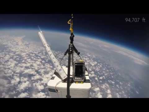 SpaceSHPE - Weather Balloon to Space HD