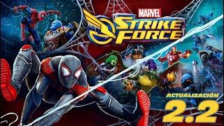 Marvel Strike Force (M.S.F) Primer vistazo al parche de Miles Morales