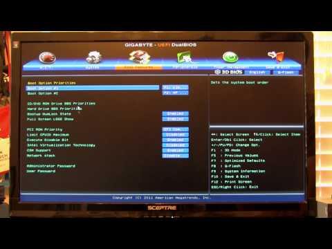Gigabyte Z77X-UD3H 3D BIOS