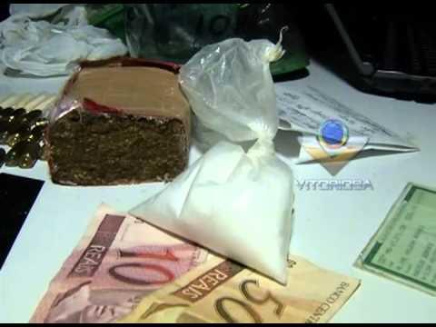 Casal é preso com drogas e munições no Shoppink Park