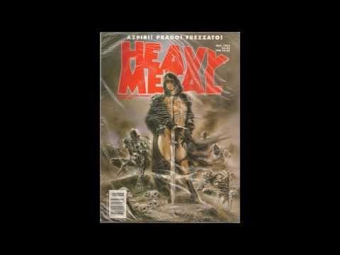 Heavy Metal Magazine Covers 1977-2000