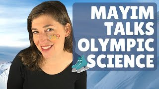 Mayim Talks Olympic Science    Mayim Bialik