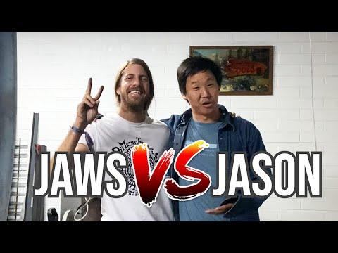 JASON VS AARON JAWS HOMOKI - METAL RAMP GAME OF SKATE