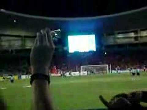 LIVE FOOTAGE OF UFUK TALAY'S PENALTY FROM THE COVE.