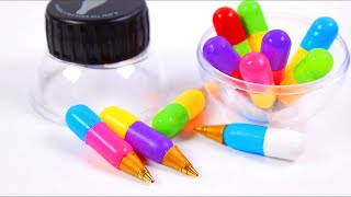 DIY Miniature Pens [working Back to School Supplies]