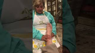 Essential Oils Foot Rub