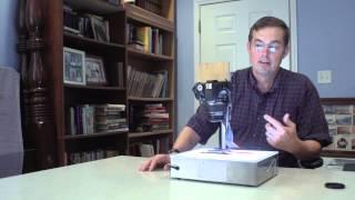 How to convert film negatives using a digital camera or smartphone