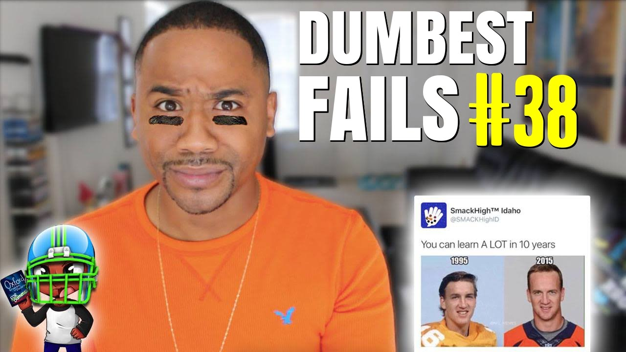 DUMBEST FAILS #38 | 2016 Super Bowl Halftime Edition