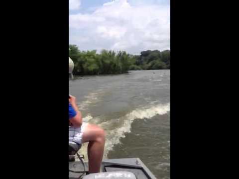 Blasting the jumping carp!!!