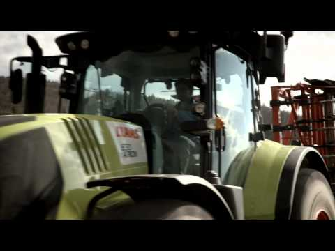 CLAAS ARION 650-530 product video 2013