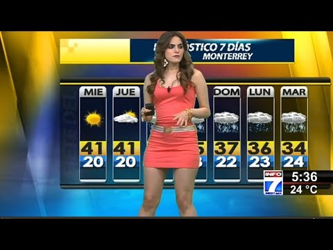 Fannia Lozano Weather Presenter From Mexico