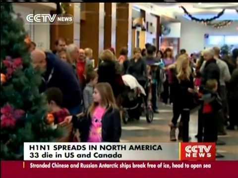 H1N1 flu :33 die in US and Canada