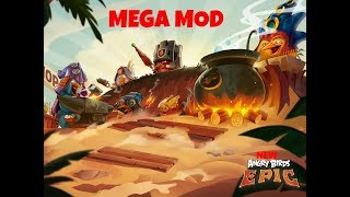 New Angry Birds Epic 3.0.27463.4821 Mega Mod Unlimited Gems/Coins!! August 2018