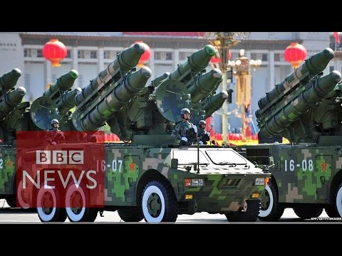 How does China's military spending compare with others? BBC News