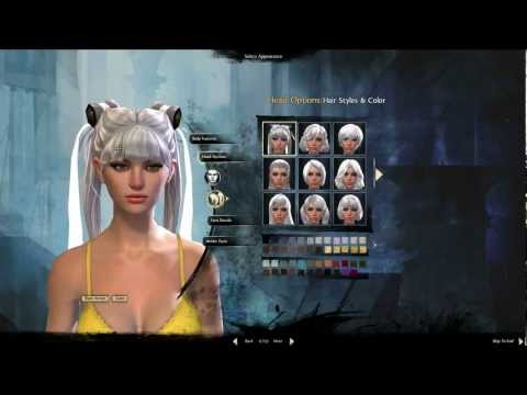 Guild Wars 2 - Human Character Creation
