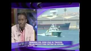 Mamadou Dia, activista senegales, debate sobre inmigración