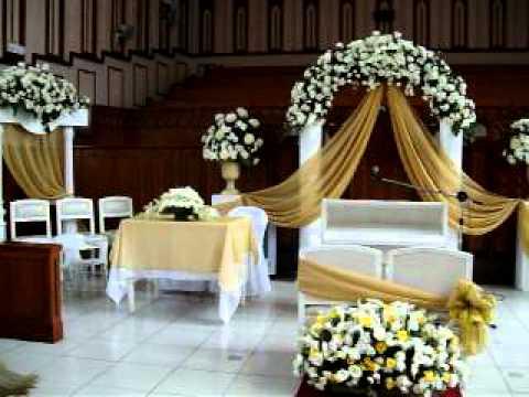 Ysabela Florist Church Wedding Arrangement Youtube