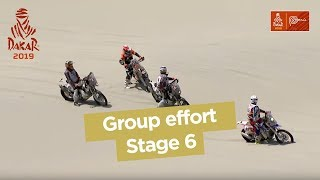 Short clips - Group effort - Stage 6 (Arequipa / San Juan de Marcona) - Dakar 2019