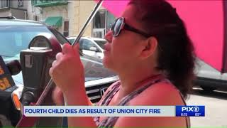 Fourth child dies after house fire in Union City, NJ: officials