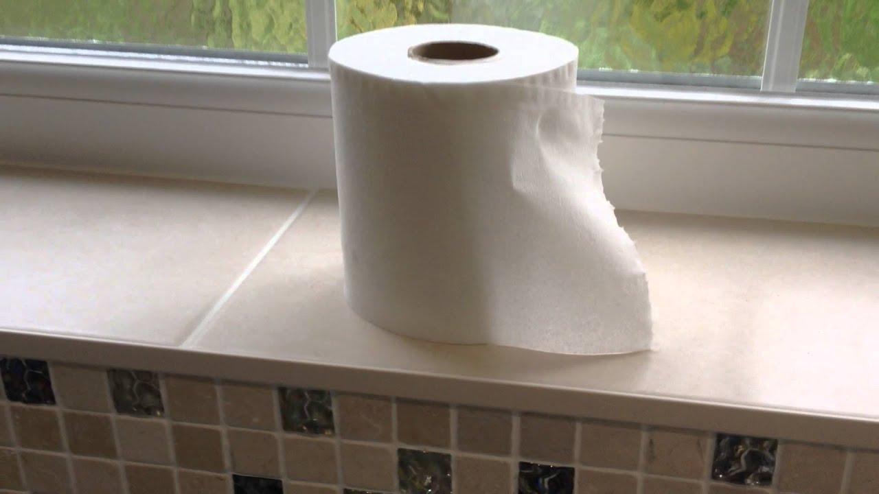 Comment changer un rouleau de papier toilette ?