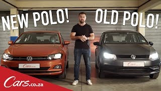 2018 VW Polo vs 2017 VW Polo - Side-by-side comparison