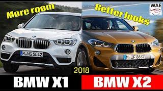 2018 BMW X2 vs 2017 BMW X1 (technical comparison)