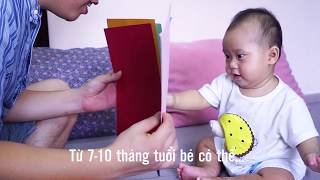 10 trò chơi bố có thể chơi với bé 7 - 10 tháng tuổi [bobimsua.com]