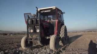 Ploughing in Turkey ( Working in Turkey)