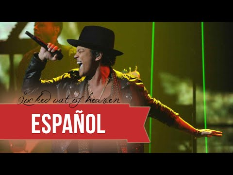 Bruno Mars - Locked Out Of Heaven (subtitulada al español) Live