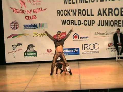 Fanny Delebecque & Alexis Chardenoux - Weltmeisterschaft 2006